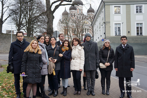 Study Trip of DS 2017-2018 Programme Students to Estonia