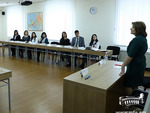 The first class of the 1st Mid-Career Programme of 2019 is conducted by Satenik Abgaryan